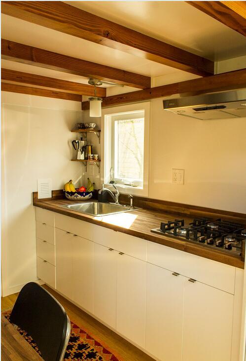 2019美国房产资讯--小房子这样装修空间大了好多!